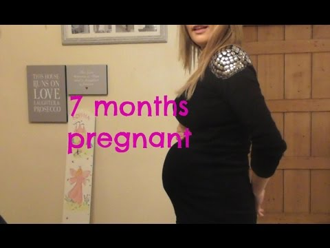 7 months pregnant: Update and belly shot