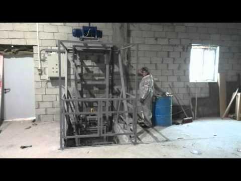 Мачтовый грузовой подъемник серии ПГКС(М)