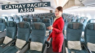 ECONOMY CLASS on CATHAY PACIFIC's A350 - A Review | Economy Week