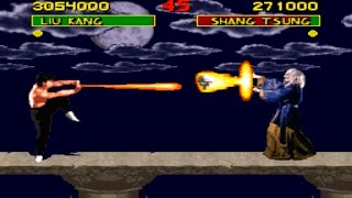 [TAS] Liu Kang VS Shang Tsung (MK Champion Edition by Snark-4918)