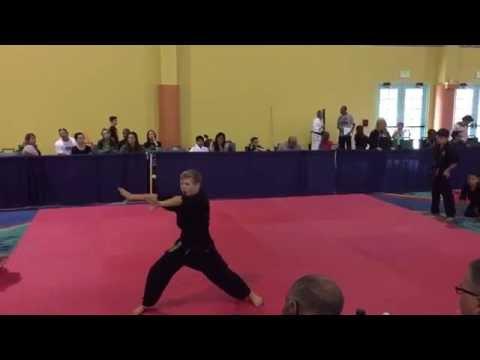 Zach Thomas US Open 2015 Extreme Forms - Wichita Airstrike Martial Arts