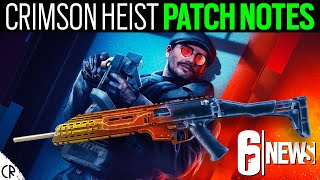 Crimson Heist Patch Notes - 6News - Tom Clancy's Rainbow Six Siege