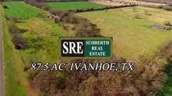 SRE- Land and Home For Sale- Ivanhoe, Tx