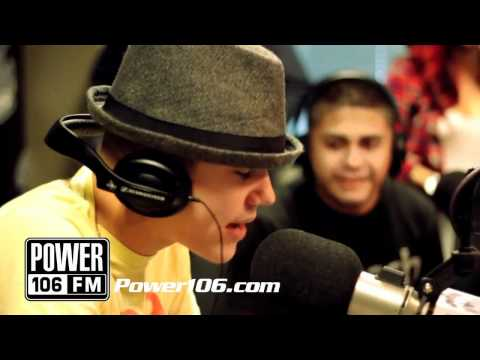 Justin Bieber- Freestyle rap!!!