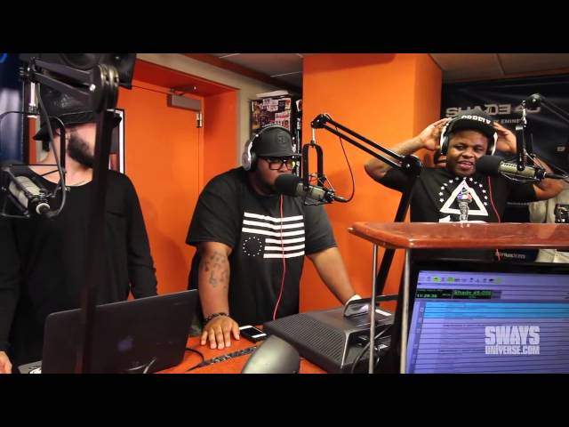 Jabee Kicks a Freestyle on Sway in the Morning