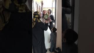 Обычай на Дагестанской свадьбе.