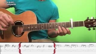 Bandolero - Don Omar ft. Tego Calderon Tutorial/Cover Guitarra