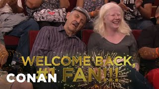 Conan Salutes His Oldest & Greatest Fan  - CONAN on TBS