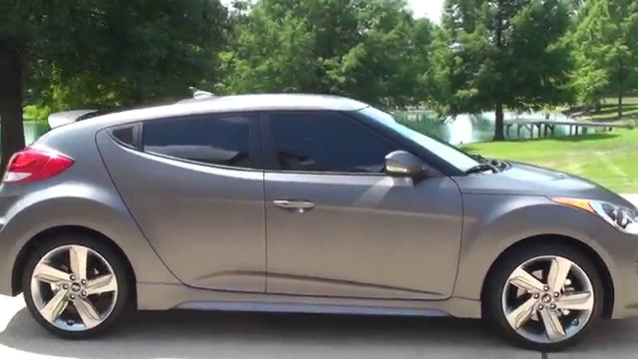 HD VIDEO 2015 HYUNDAI VELOSTER YOUNG GUN MATT METALIC TURBO USED FOR
