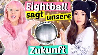 MAGIC Eight Ball sagt die Zukunft voraus 🔮 So wird 2021 | ViktoriaSarina