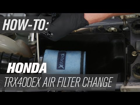 Honda TRX400EX | Air Filter Change
