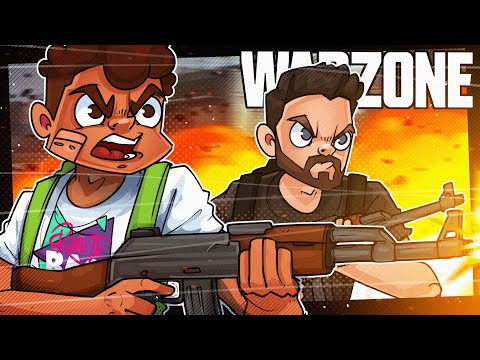 2 EXTREMELY Talented People Play Call Of Duty Warzone w/ Jordan Fisher and Dillon Francis!