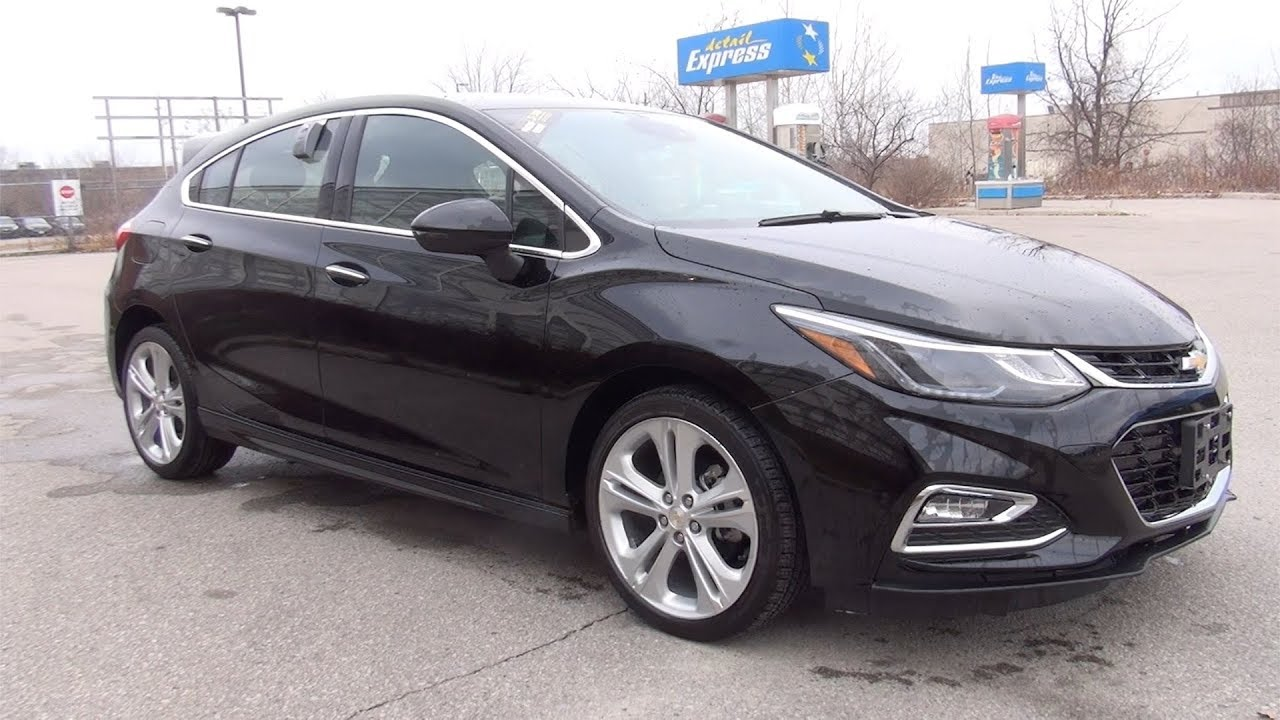 2018 CHEVROLET CRUZE HATCHBACK PREMIER - JET BLACK - YouTube