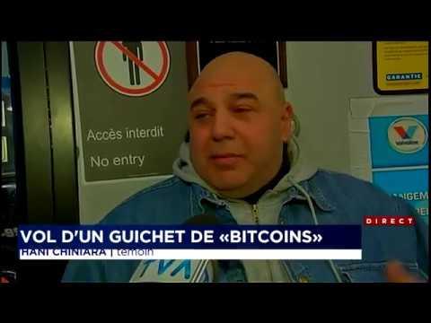 Vol d'un guichet automatique distribuant des Bitcoins à Montréal