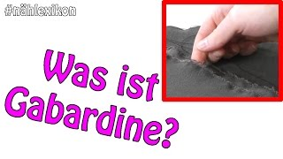 Was ist Gabardine?   #Naehlexikon   Dots Designs   Nähen für Anfänger