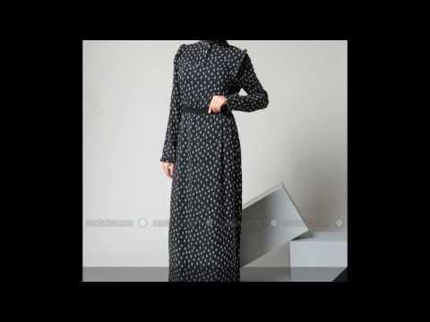 Refka İndirimli Tesettür Elbise Modelleri