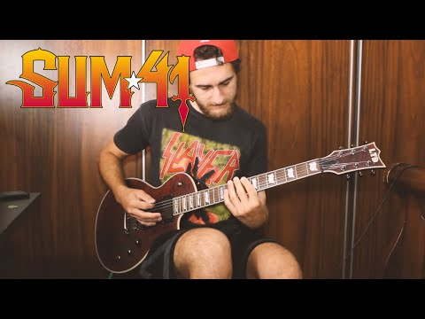 sum-41---45-(a-matter-of-time)-guitar-cover-new-song-2019