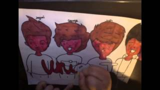 Union J Drawing
