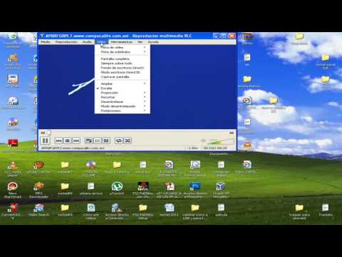 configurar VLC para ver videos en pantalla completa