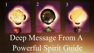 🔮Pick-A-Card🔮 Deep Message From A Powerful Spirit Guide!
