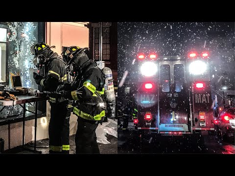 | FDNY Haz-Mat Box 960 | Chemical Spill — HazMat 1 Responds and Operates