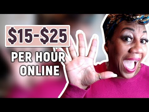 5 Websites With Work From Home Jobs That Pay You $15-$24 Per Hour Online in 2019