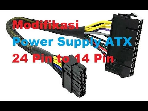 membuat converter power supply atx 24 pin to 14 pin youtube. Black Bedroom Furniture Sets. Home Design Ideas