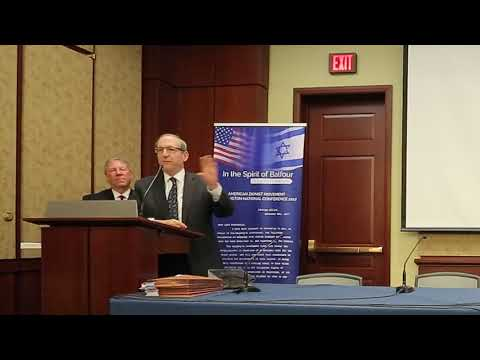 Frederick M. Lawrence: In the Spirit of Balfour Congressional & Diplomatic Luncheon