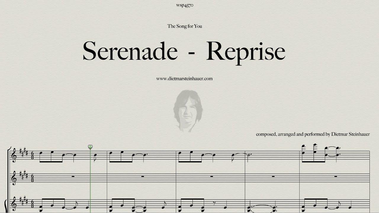 Serenade reprise youtube for Dietmar steinhauer