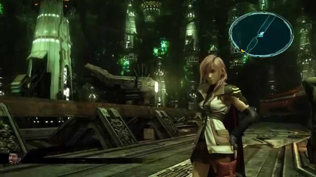 FINAL FANTASY XIII РС 1080p 60 FPS MSAA 8 Shadow Resolution 4 с GeDoSaTo