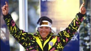 Mateja Svet slalom gold (WCH Vail 1989)
