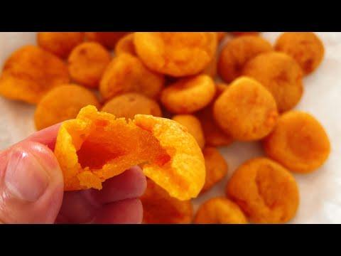 【簡單甜點】夜市美食地瓜球 氣炸版 easy recipes yam ball with an air fryer