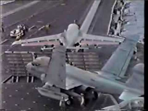 USS Constellation CV-64 Flight Deck Video 1989A