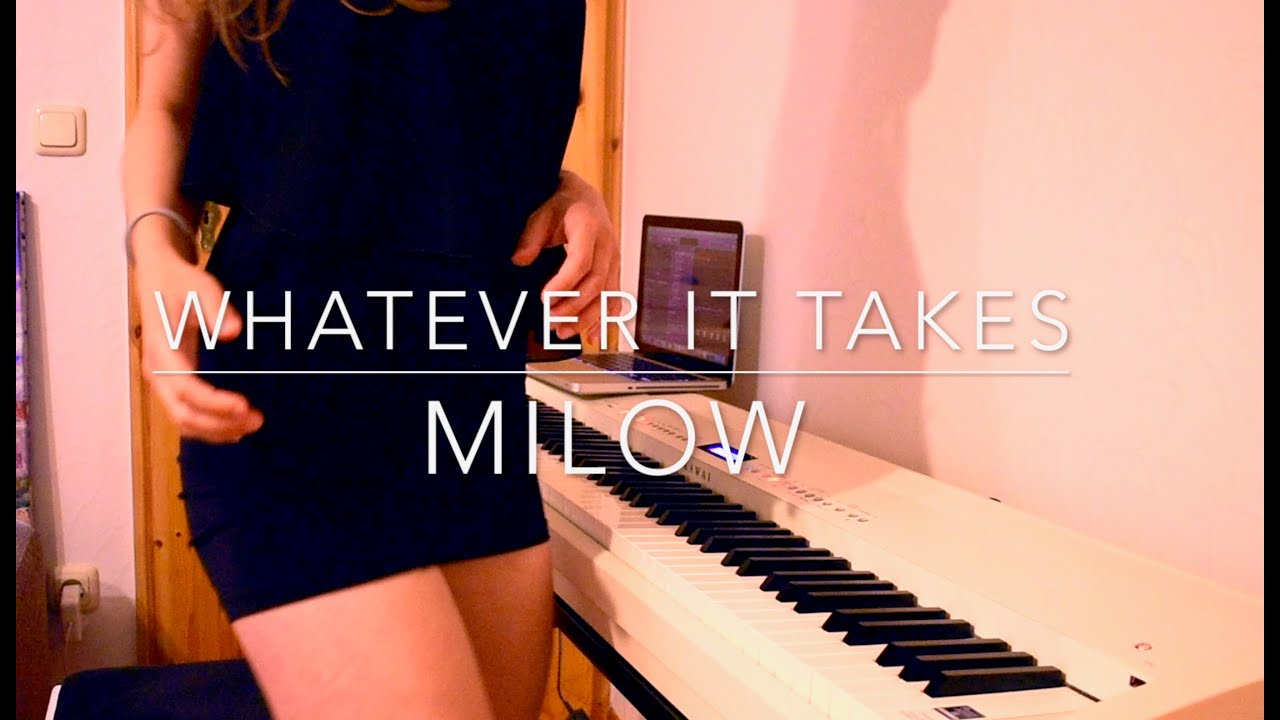 Piano Cover Milow   Whatever it takes