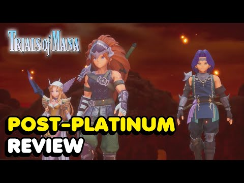 So I Got The Platinum Trophy In Trials Of Mana… Here is My Review