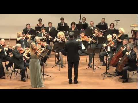 Beethoven Violin Concerto Op. 61, Anna Tifu, Israel Chamber Orchestra, Shalev Ad-El