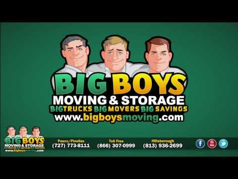 TAMPA MOVERS (813) 936-2699 Voted Best Moving Company BIG BOYS MOVING