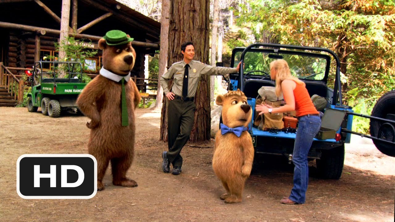 Yogi Bear 4 Movie Clip Boo Boo Cam 2010 Hd Youtube