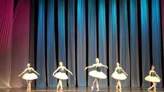 Танец прях из балета 'Коппелия'. Солистка - Мария Грозная
