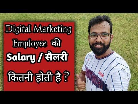 Digital Marketing Employee (SEO) की  Salary / सैलरी  कितनी होती है ?
