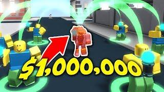 EL SECRETO GLITCHED NOOB TACTIC??! - Cash Grab Simulator Roblox