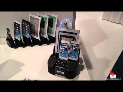 DOK Universal Charging Docks and Karaoke Machines at CES 2016