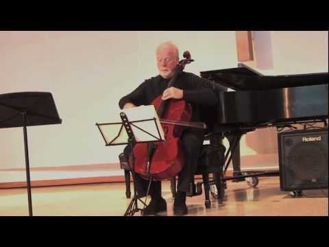 """Lynn Harrell performs """"A Young Person's Guide to the Cello"""""""
