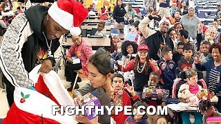 JERMALL CHARLO LIKE YOU'VE NEVER SEEN BEFORE; SANTA CHARLO SPREADS HOLIDAY CHEER TO KIDS