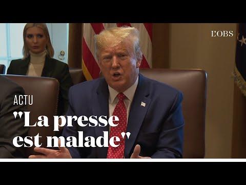 Donald Trump furieux contre la presse après les rumeurs d'une crise cardiaque