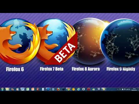 Firefox 6 v 7 v 8 v 9 Review Which one to Choose