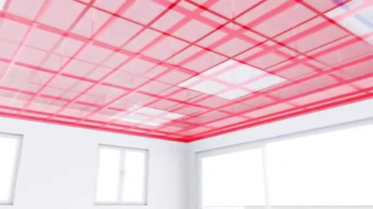 hilti pr 3-hvsg green rotating laser-level ceiling (english) - youtube
