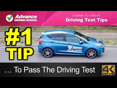#1 Tip To Pass The Driving Test  |  Learn to drive: 2018 UK Driving Test