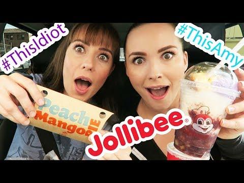 Jollibee MUKBANG!  Featuring Tara Erickson