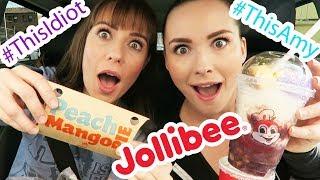Jollibee MUKBANG! - (Featuring Tara Erickson)